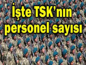 İşte TSKnın personel sayısı