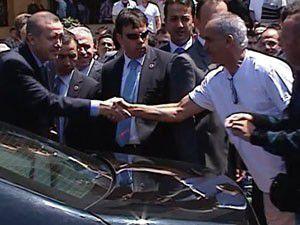 Erdoğanla turist arasında ilginç diyalog