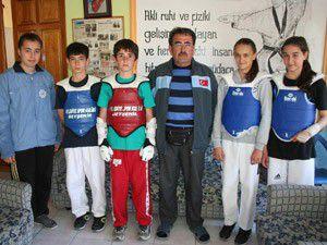 Beyşehirli tekvandocu Türkiye şampiyonu