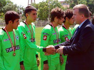 Konyasporda U19 şampiyonluğu sevinci