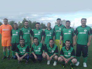 Karapınarda din görevlileri futbol turnuvasına katıldı
