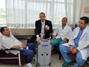 Kalpsiz hasta nakil bekliyor