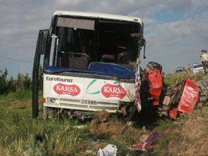 Karaman-Ereğli karayolunda kaza: 1 ölü, 20 yaralı