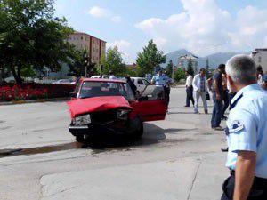 Seydişehirde kaza: 4 yaralı