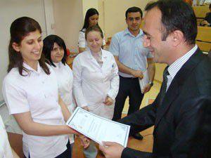 Selçuklu Tıpta sertifika töreni