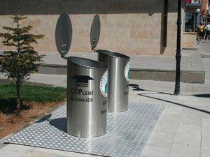 Konya'da yer altı çöp konteynır dönemi