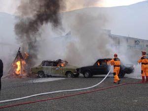 İtfaiye, ot yangınlara karşı vatandaşları uyardı