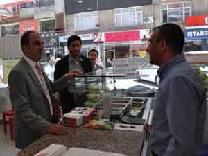 AK Parti Selçuklu, esnaf ziyaretlerine devam ediyor