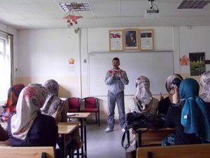 Öğrenciler işaret dili eğitimini aldı