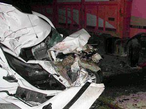 Urfa-Mardin karayolunda feci kaza: 5 ölü