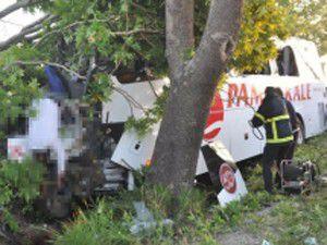 Kütahyada feci kaza, 7 ölü 30dan fazla yaralı!