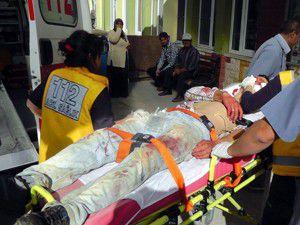 Beyşehirde trafik kazası: 8 yaralı