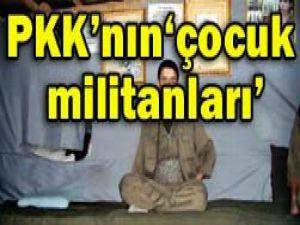 PKKnın çocuk militanları