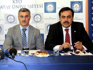 Üniversite ile KTO arasında işbirliği protokolü