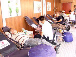 Akşehirliler Kan Bağışı Tırına ilgi göstermedi