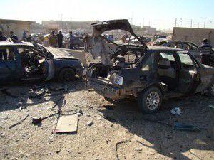 Irak güne bombayla uyandı