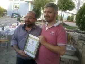 Gençlik Eğitim Kurumlarından personele ödül
