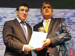 Recep Konuk yılın girişimcisi seçildi