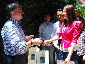 Başkan Akyürek Üniversiteli öğrencilerle buluştu
