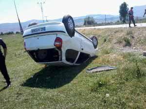 Beyşehirde iki ayrı trafik kazası