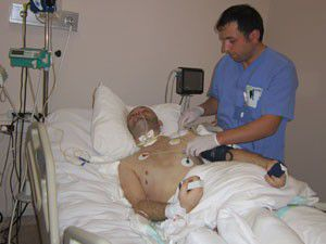 Saied Saman Konyada tedavi görüyor