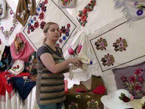 Akşehirde yıl sonu sergisi açıldı
