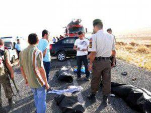 Mardinde Feci Kaza: 6 Ölü, 7 Yaralı