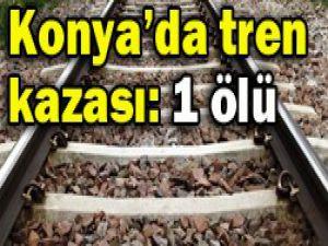Konya-Ereğlide tren kazası