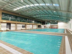 Yarı olimpik yüzme havuzunun temeli atıldı