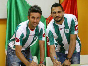 Konyasporda ilk imzalar atıldı