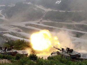 2000 asker gerçek mermilerle...