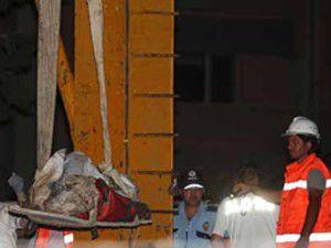 Metro göçüğündeki cesede ulaşıldı