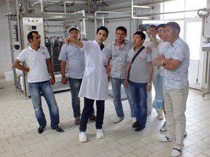 Kazak heyet şaşkınlığını gizleyemedi