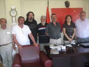 Ereğliler Derneğinden CHPye ziyaret