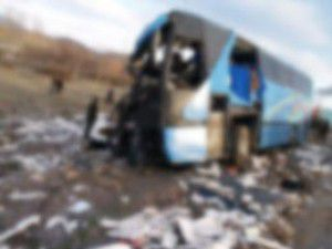 Otobüs uçuruma yuvarlandı: 19 kişi öldü