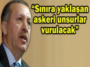 Erdoğan: Gazabımız şiddetlidir