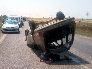 Hüyükte trafik kazası: 4 yaralı