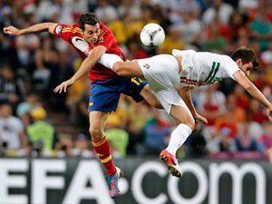 Avrupa Futbol Şampiyonasında ilk finalist İspanya