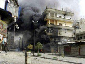 Şamda büyük patlama