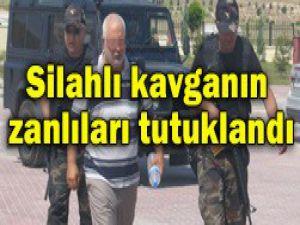Silahlı kavgada 5 tutuklama
