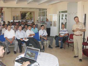 Selçuklu Belediyesi'den çalışanlarına kene semineri