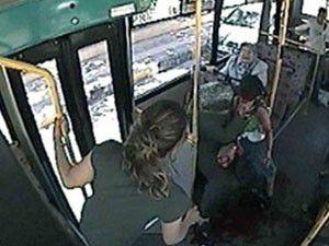 Seken kurşun otobüste isabet etti