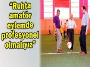 AK Parti Futbol Turnuvası başladı