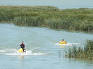 Beyşehir Gölünde Jet Ski keyfi