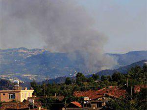 Suriyede sınıra yakın 5 ayrı yangın!