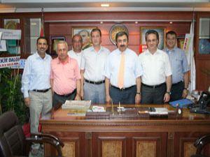 Un Sanayicileri Derneği'nden Başkan Çevik'e ziyaret