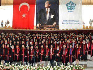 Meram Tıpta mezuniyet heyecanı