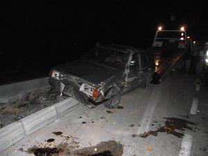 Konyada trafik kazaları: 6 yaralı