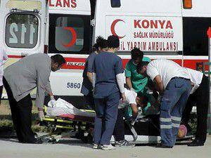 Rahatsızlanan kadın hava ambulansıyla taşındı