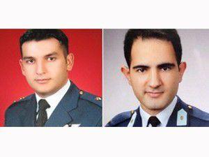 Pilotların naaşları tespit edildi